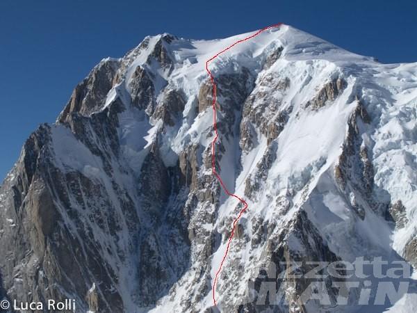 Montagna: 21enne alessandrino muore sul Monte Bianco
