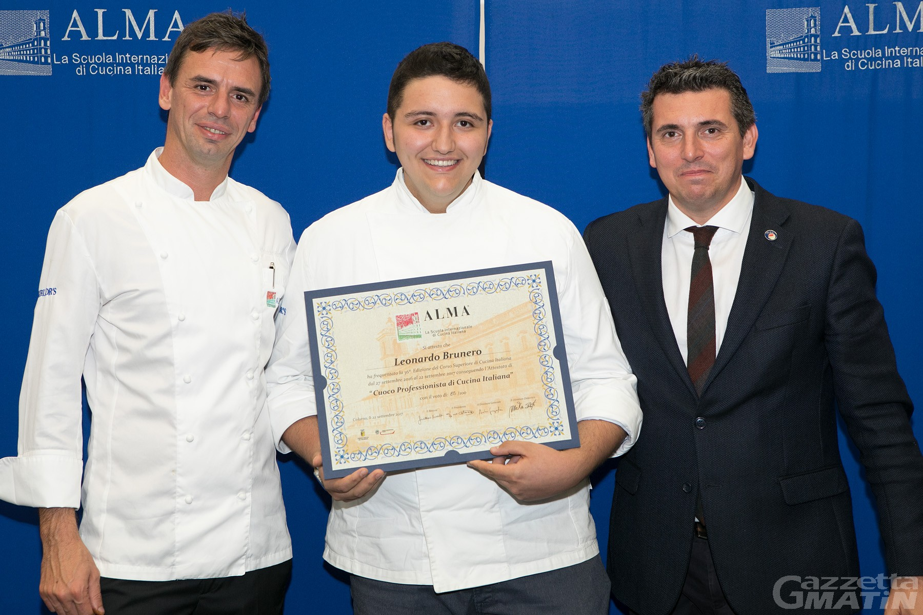 ALMA: Leonardo Brunero Cuoco professionista