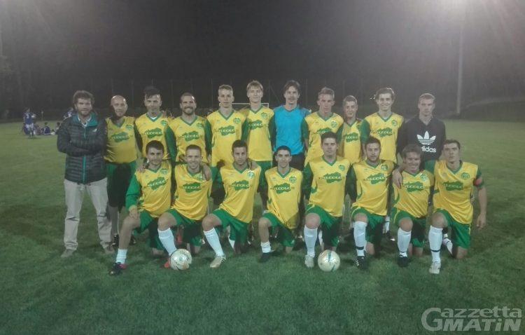 Calcio: il Valdigne centra la prima vittoria in Coppa