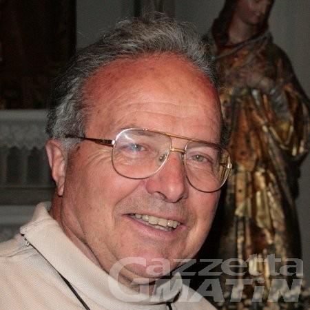 Lutto: è morto il canonico Françis Darbellay