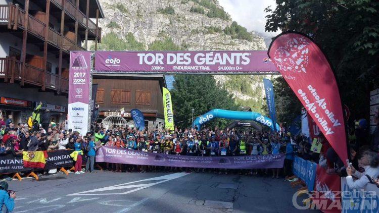 Tor des Géants: partita l'ottava edizione