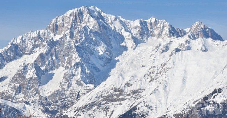 Montagna: alpinista morto in un crepaccio sul Monte Bianco