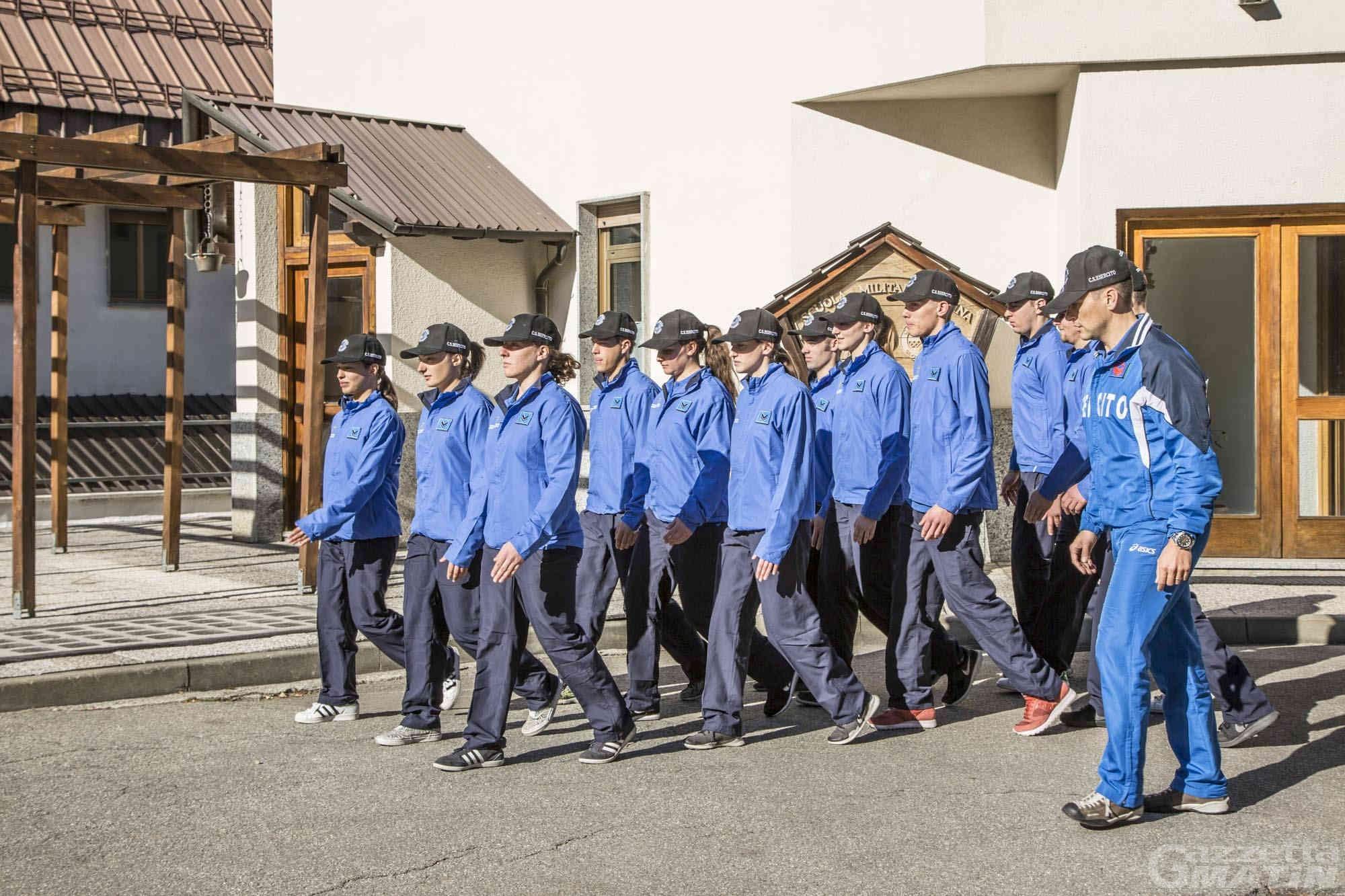 Sport: dodici nuovi atleti al Centro Sportivo Esercito