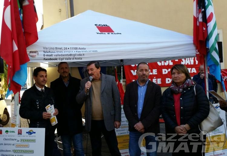 Sindacati: «in piazza per giovani e lavoro»