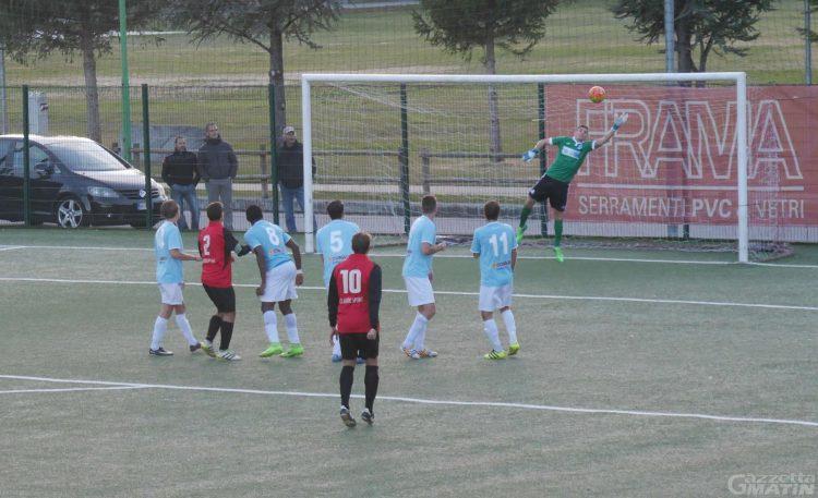 Calcio: vince il P.D.H.A., l'Aygre rallenta la capolista