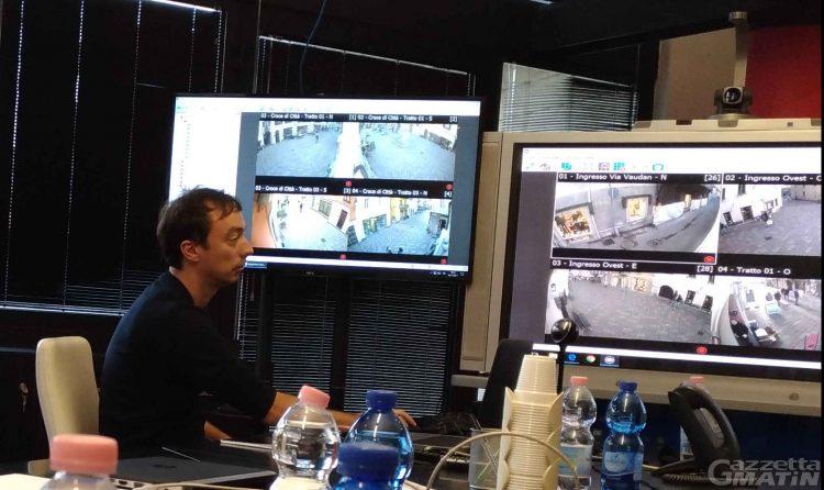 Sicurezza: ad Aosta 114 telecamere collegate a centrale unica