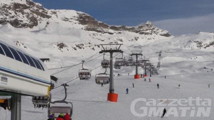 Cervinia: rubano sci sulle piste, tre giovani denunciati