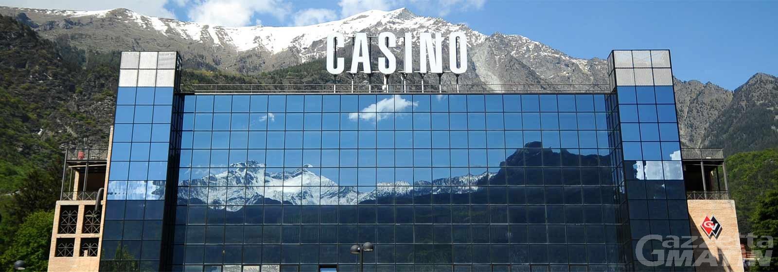 Saint-Vincent, Caveri: «La Regione deve credere nel futuro del Casinò»