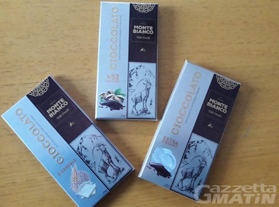 Cioccolato VdA, prodotti in vendita in Bassa Valle