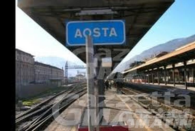 Ferrovia: Aosta-Ivrea chiusa dal 14 giugno per un mese per potenziamenti