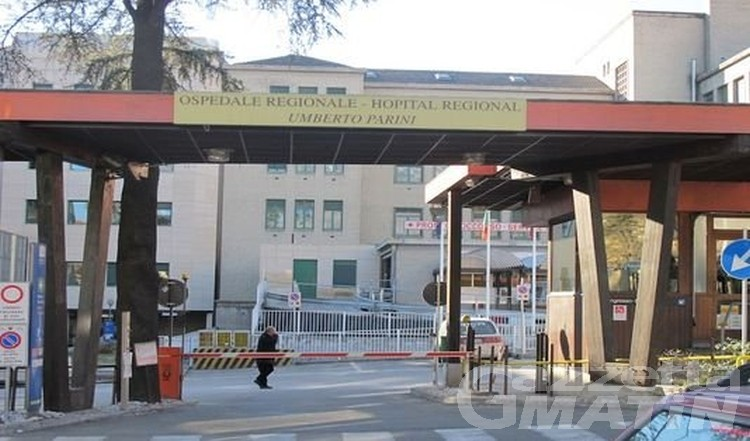 Incidente: scontro ad Aosta, un ferito in PS