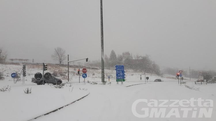 Maltempo, attese nuove abbondanti nevicate nella serata
