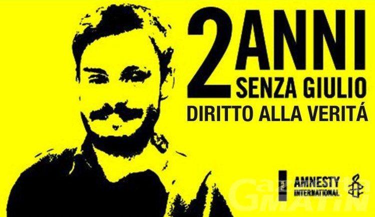 Amnesty, stasera ad Aosta fiaccolata per Giulio Regeni