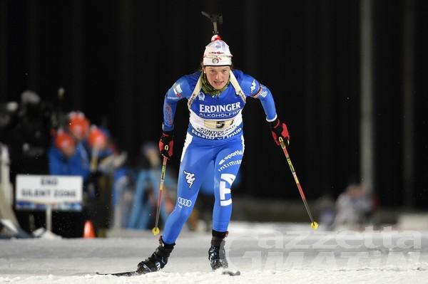 Biathlon: Nicole Gontier brilla ad Anterselva