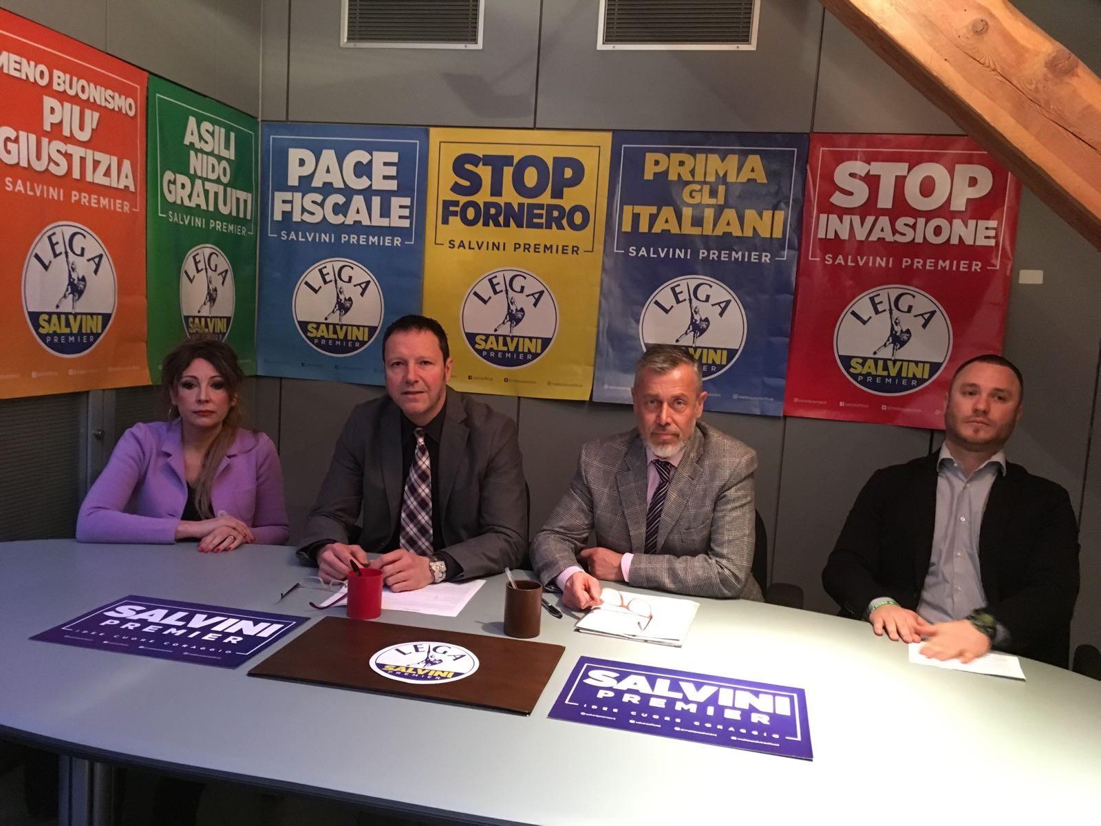 Lega Nord VdA: presentati i candidati alle elezioni politiche