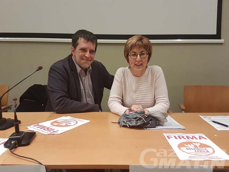 Chiara Minelli e Fabio Protasoni candidati di Risposta Civica «per il cambiamento»