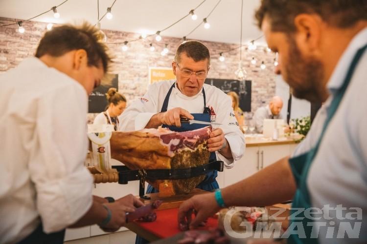 Courmayeur, apre oggi il villaggio gourmet per Taste of