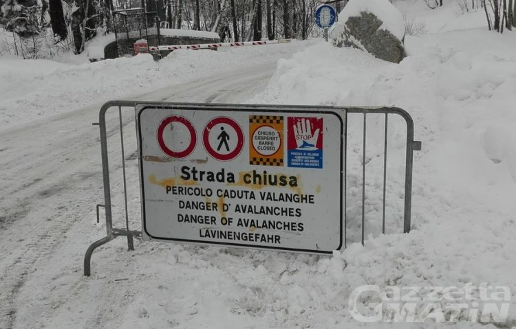 Maltempo: a Courmayeur chiusa la Val Ferret