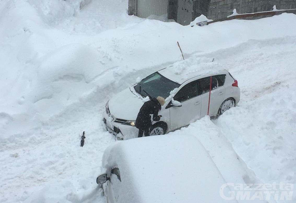 Maltempo, chiusa la strada da Valtournenche a Cervinia