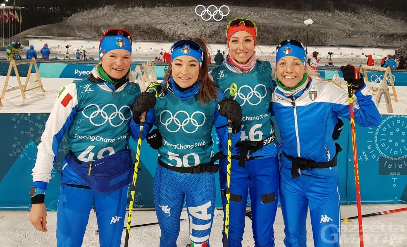 Olimpiadi: tre errori frenano Nicole Gontier nella sprint