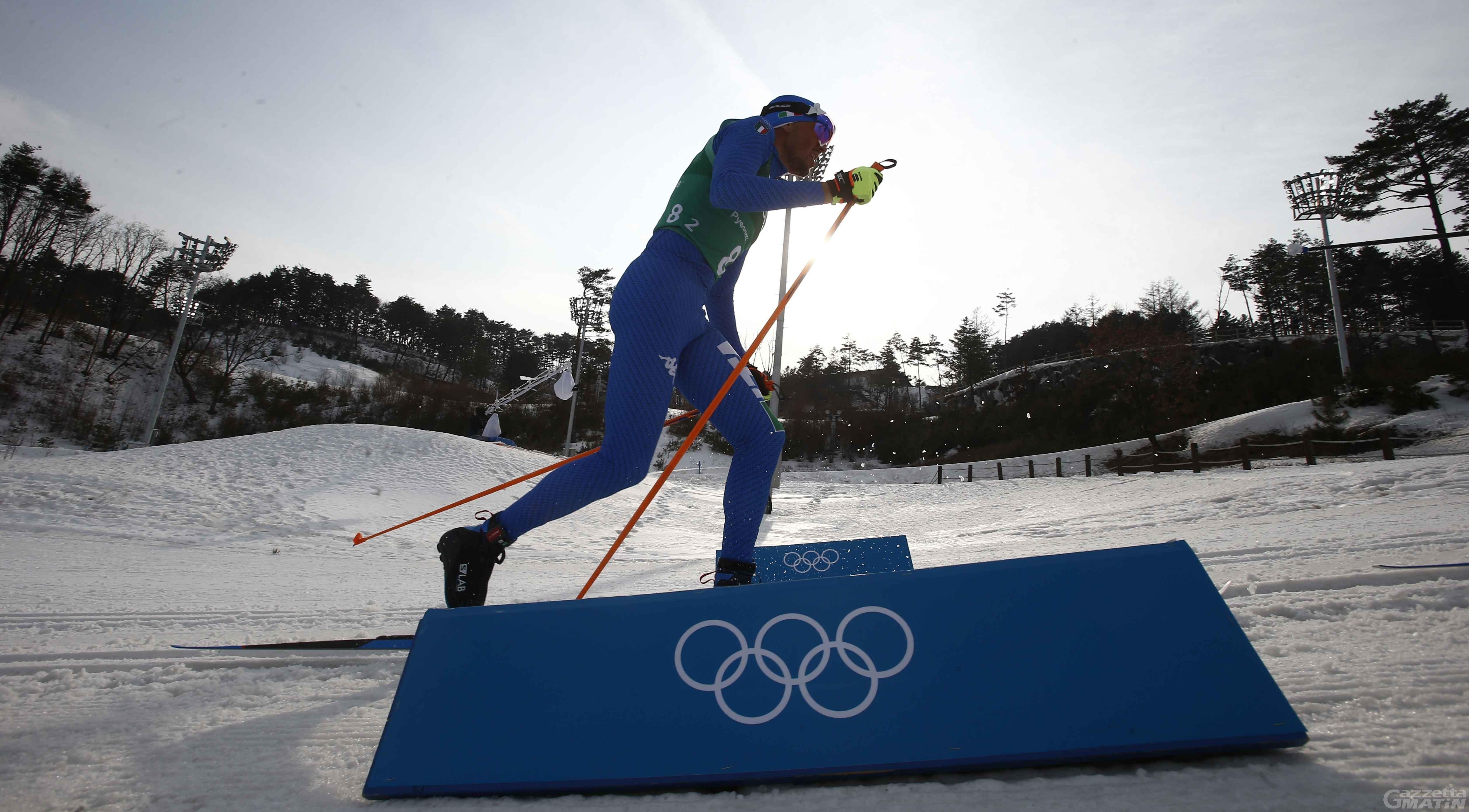 Olimpiadi: De Fabiani lontano dal podio nella 50 km