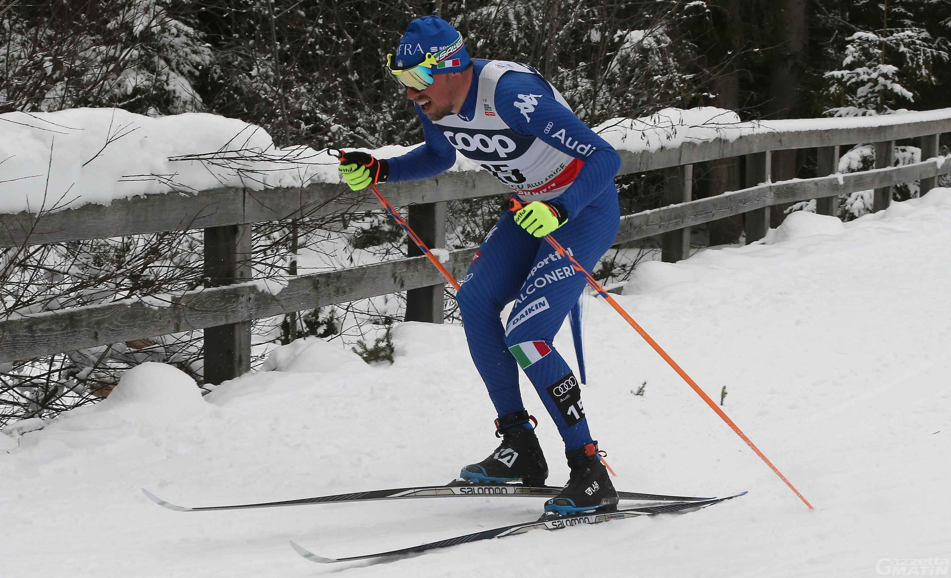 Olimpiadi: Francesco De Fabiani 20° nella skiathlon