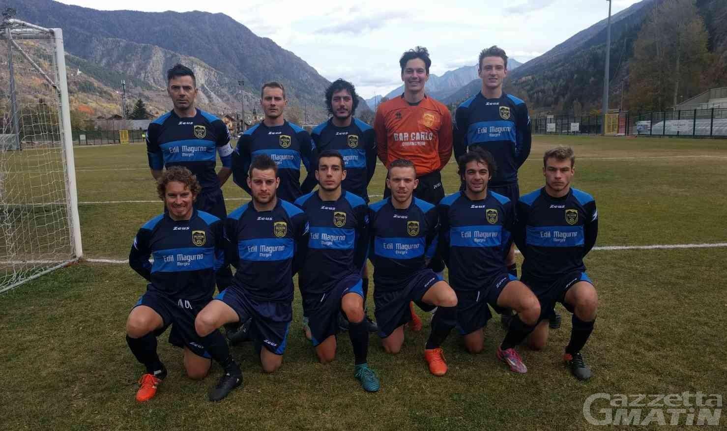 Calcio: il Montjovet Champdepraz primo in Coppa