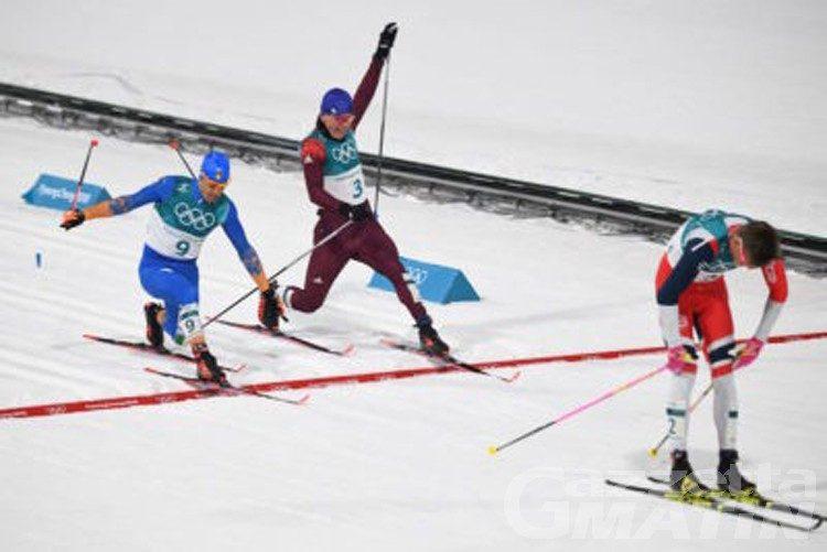 Olimpiadi, Federico Pellegrino medaglia d'argento
