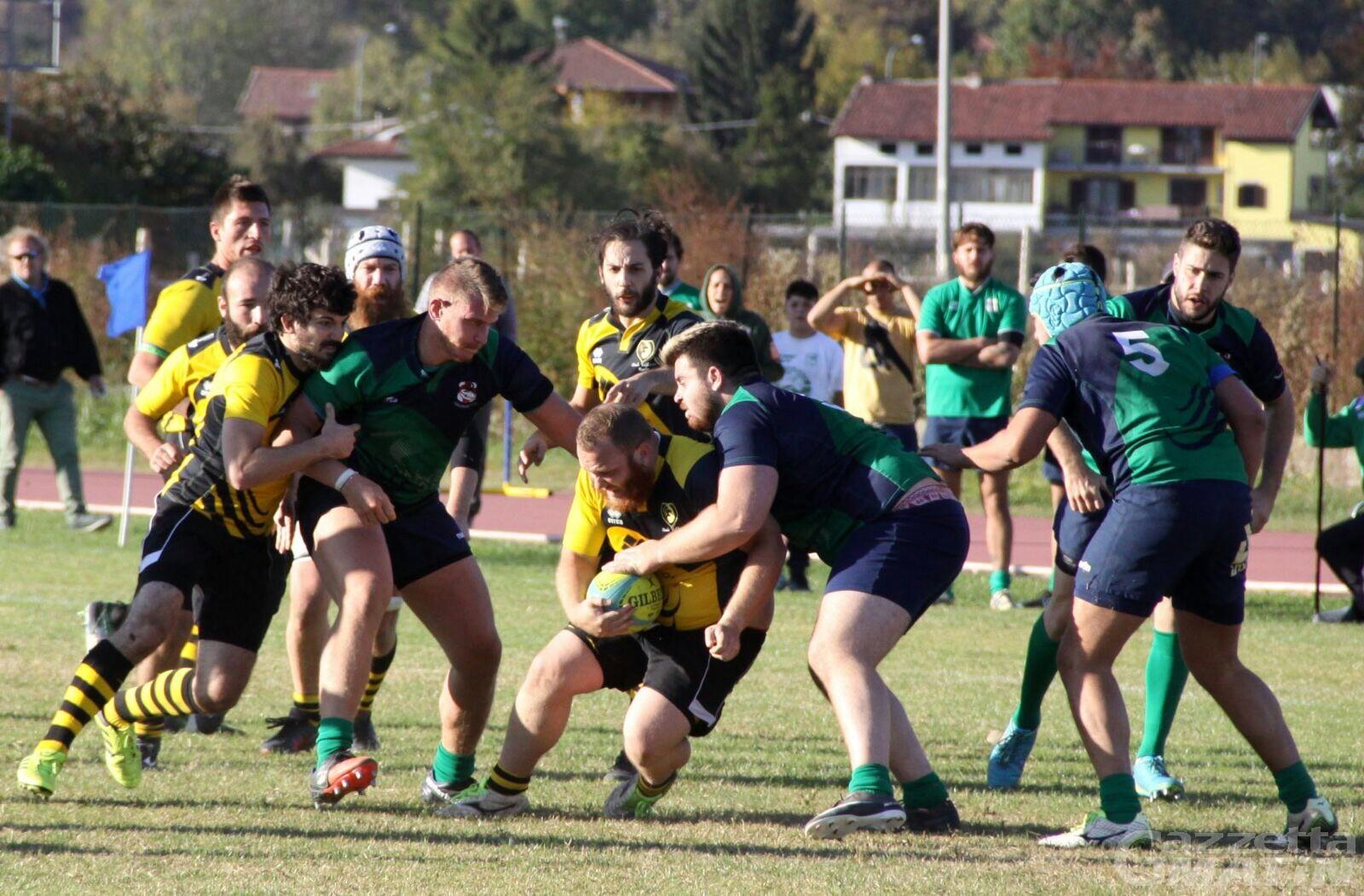 Rugby: lo Stade Valdôtain a caccia del sorpasso
