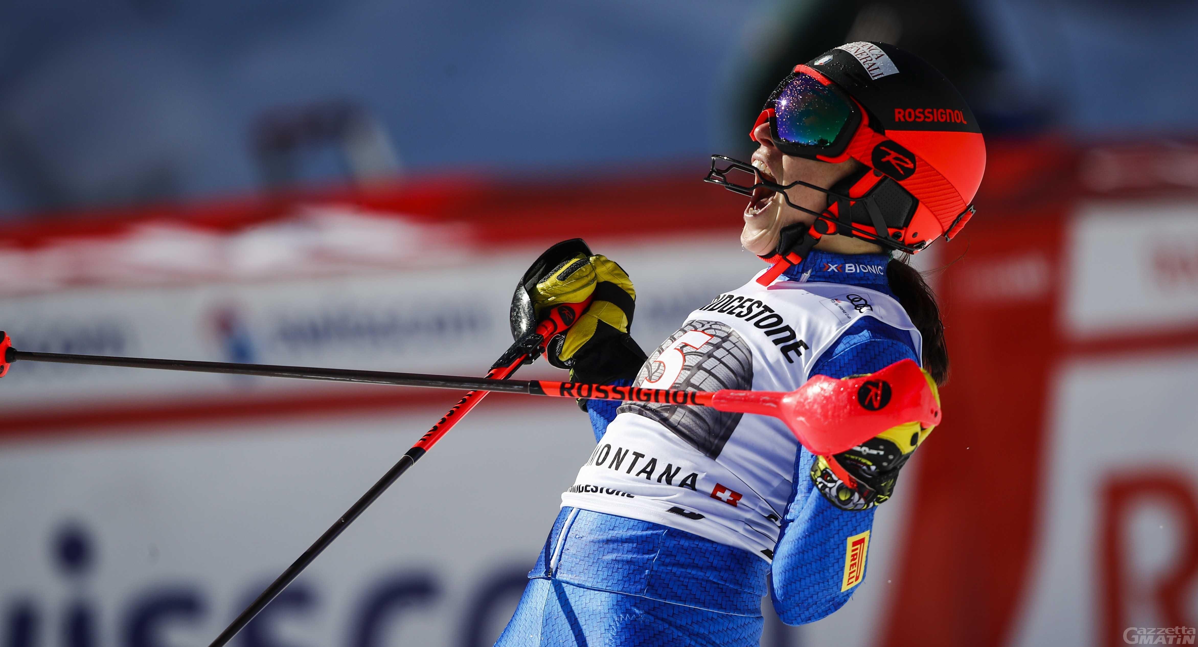 Sci alpino: l'ottava meraviglia di Federica Brignone