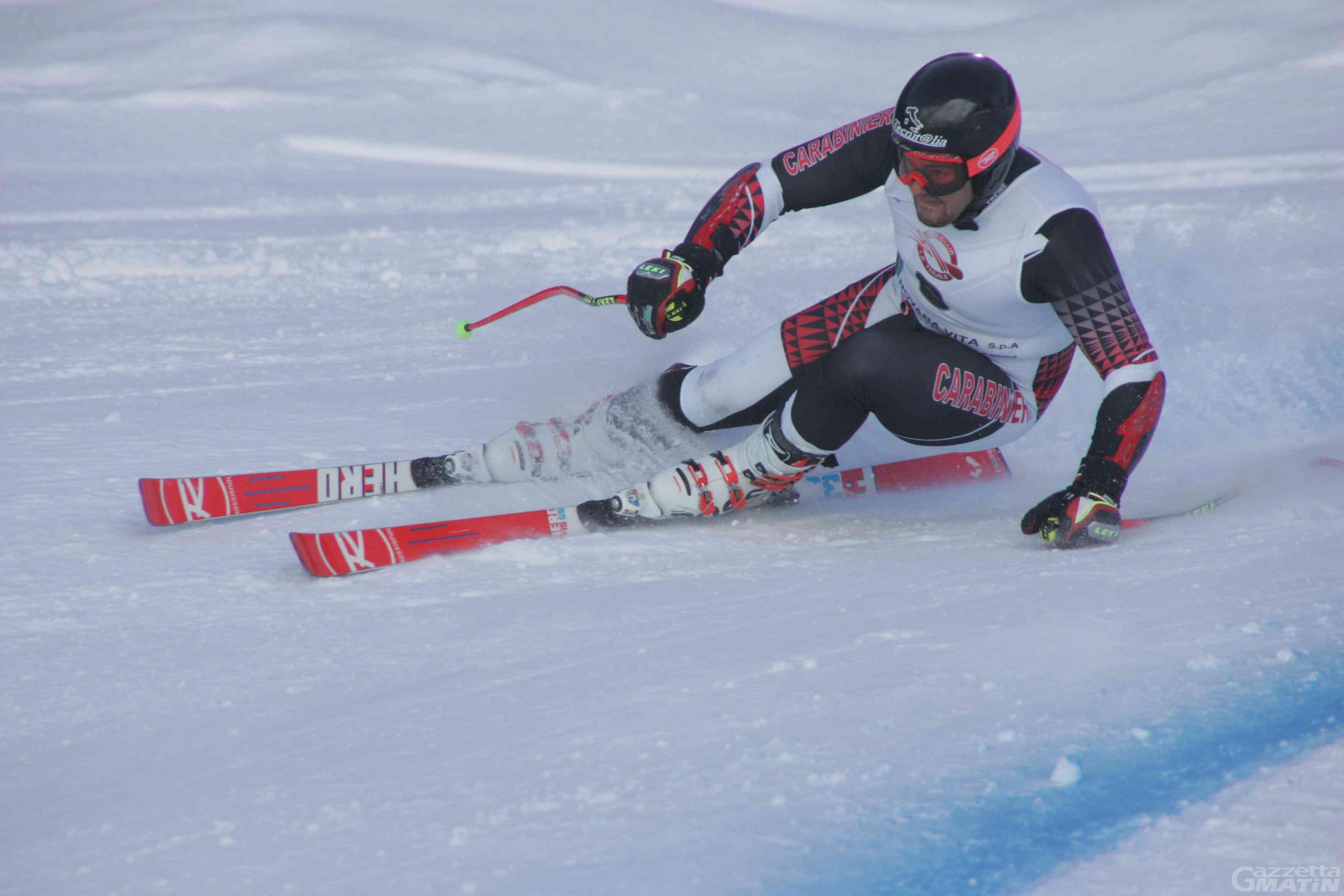 Sci alpino: Federico Simoni oro tricolore in discesa