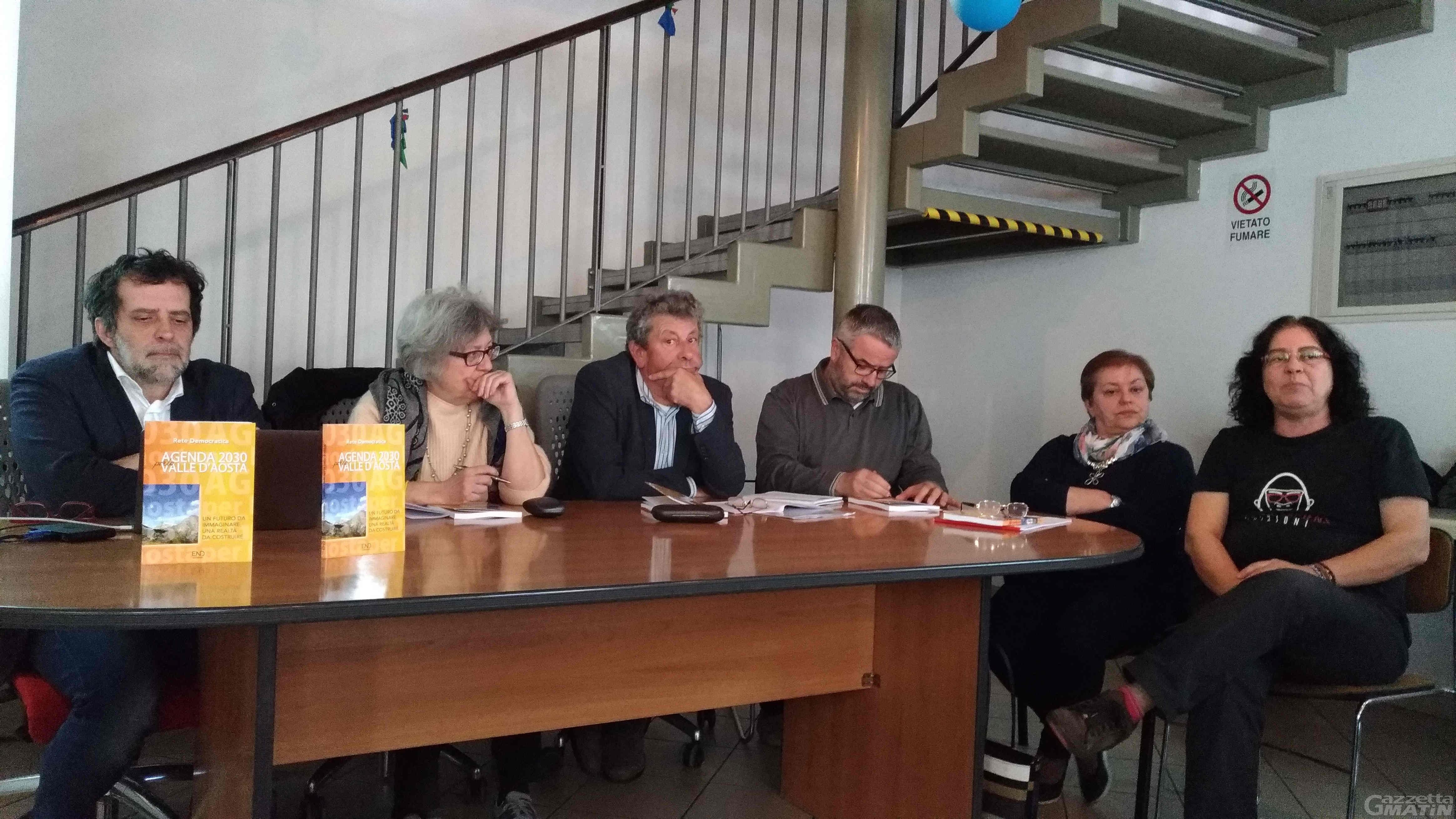 La Valle d'Aosta fra 12 anni, Agenda 2030 la ipotizza in un libro