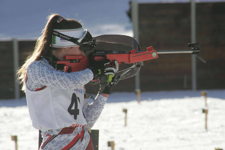 Biathlon: trentacinque giovani rossoneri ad Anterselva