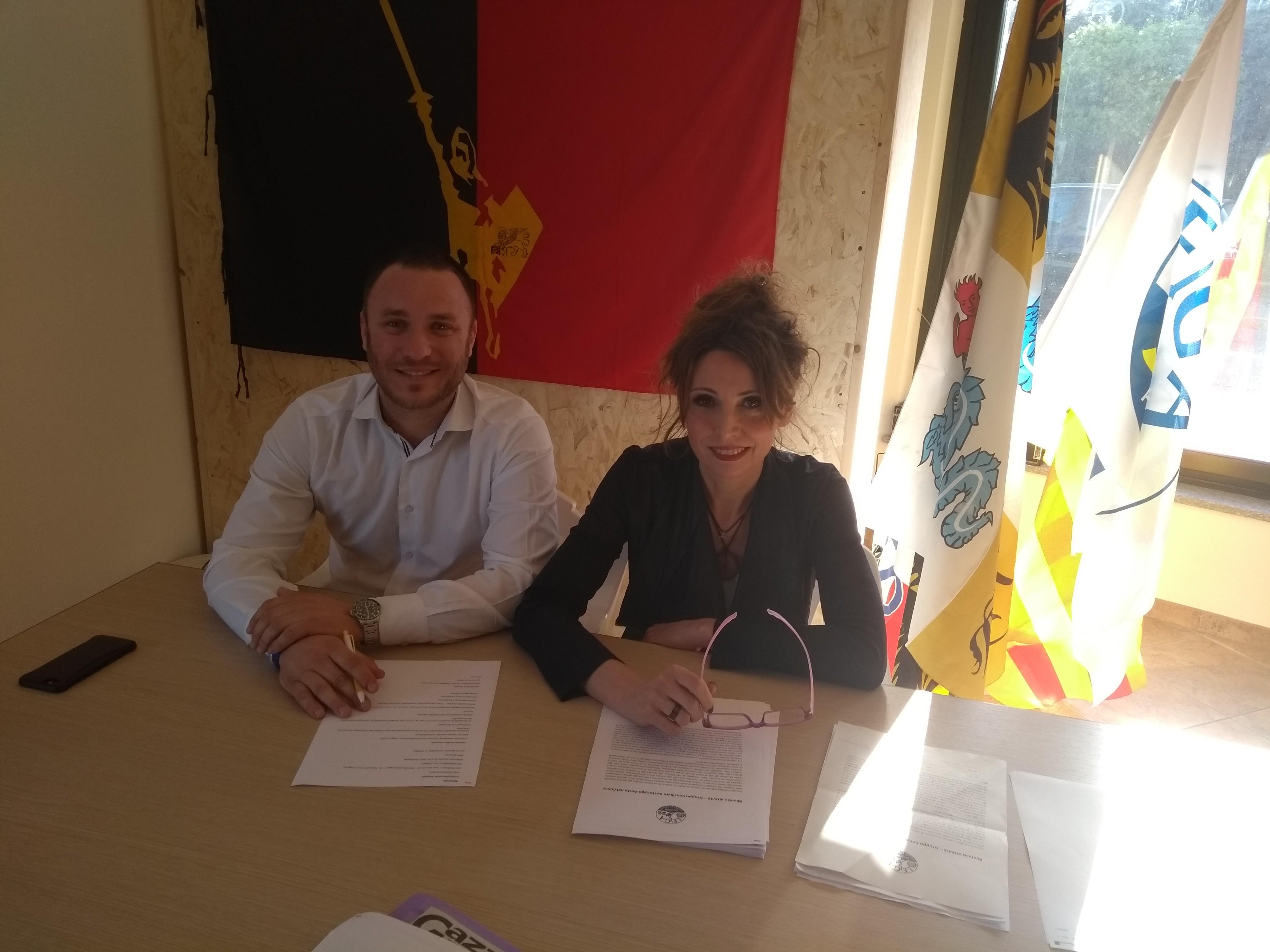 Lega-Aosta: il bilancio in Consiglio di Spelgatti e Manfrin