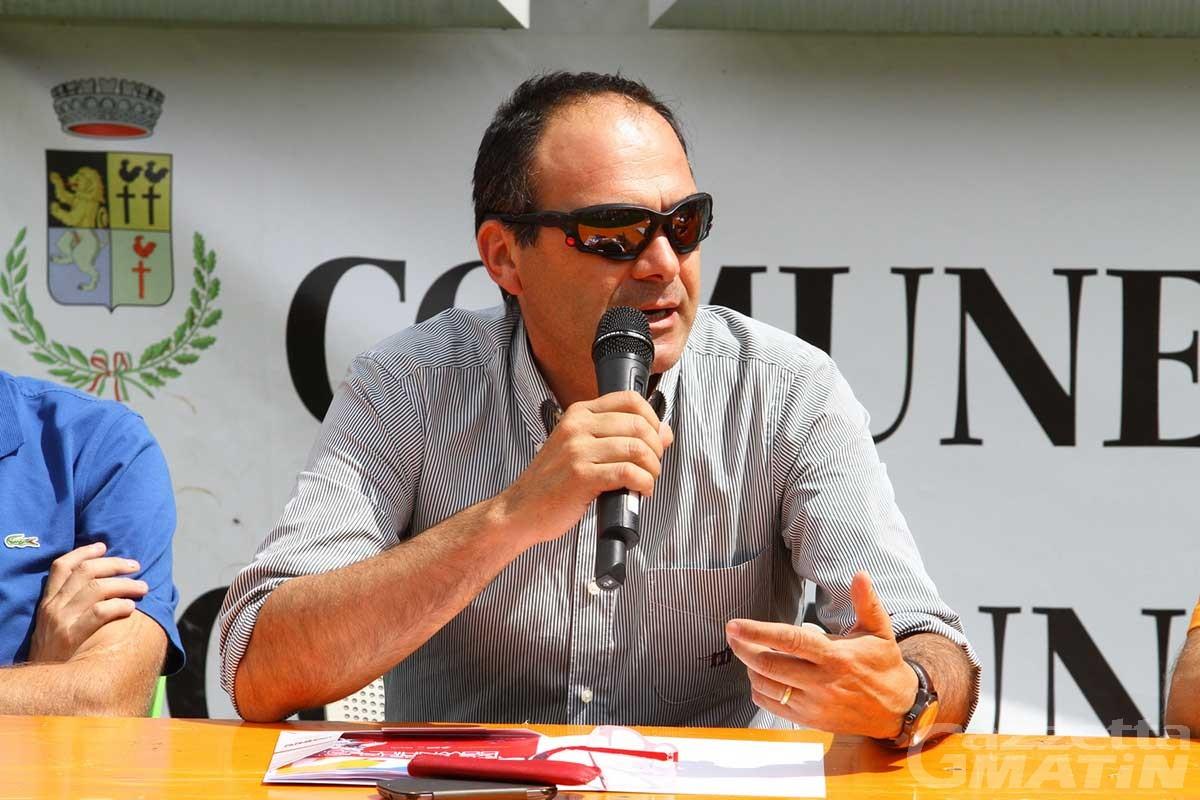 Michel Martinet presidente Unité des Communes Mont Emilius