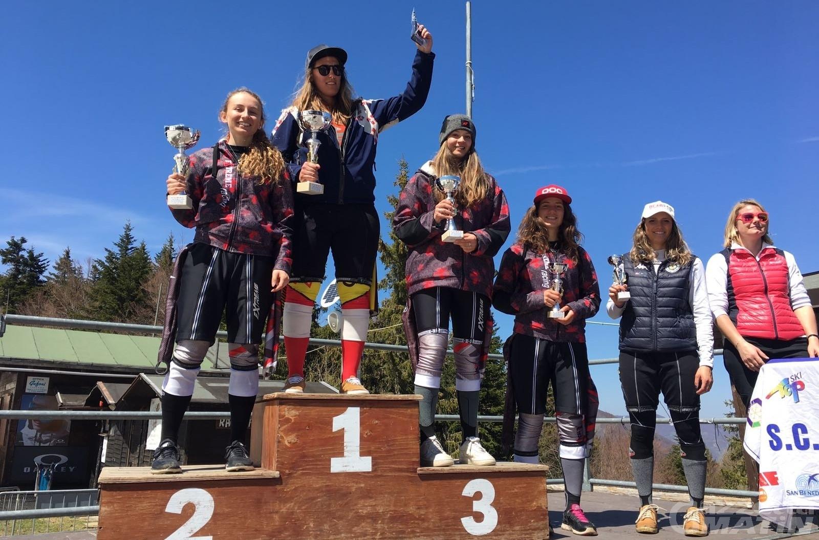 Sci alpino: Lucchini e Brunet sul podio all'Abetone