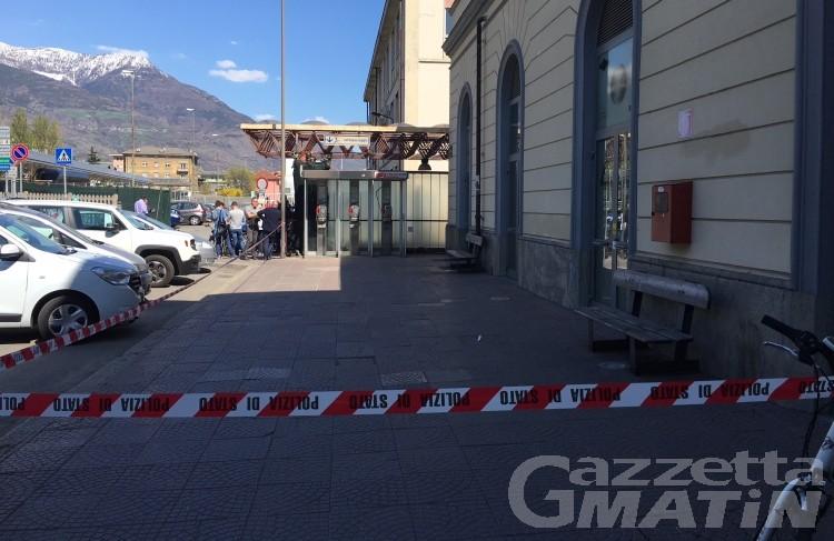 Aosta: allarme bomba alla stazione ferroviaria
