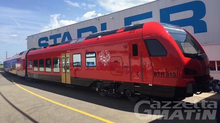 Ferrovie, a Trenitalia il servizio sulla tratta valdostana per prossimi 5 anni