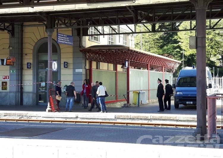 Pacco sospetto in stazione ad Aosta: «Non poteva esplodere»