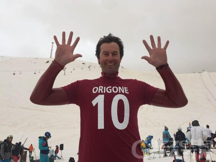 Speed skiing: Simone Origone con dieci Coppe è nella storia