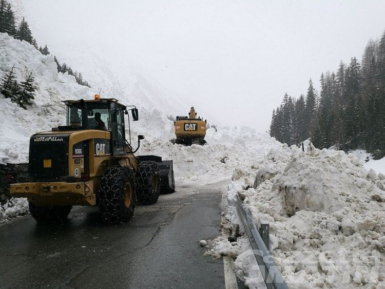 Valanghe: riaperta la strada regionale di Cogne