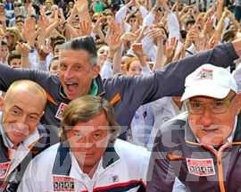 Panatta, Lucchetta, Graziani e Chechi ad Aosta il 16 maggio
