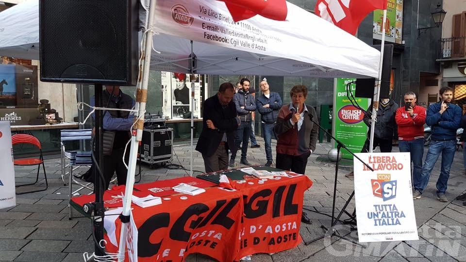 Sindacato: Susanna Camusso ad Aosta venerdì 11 maggio