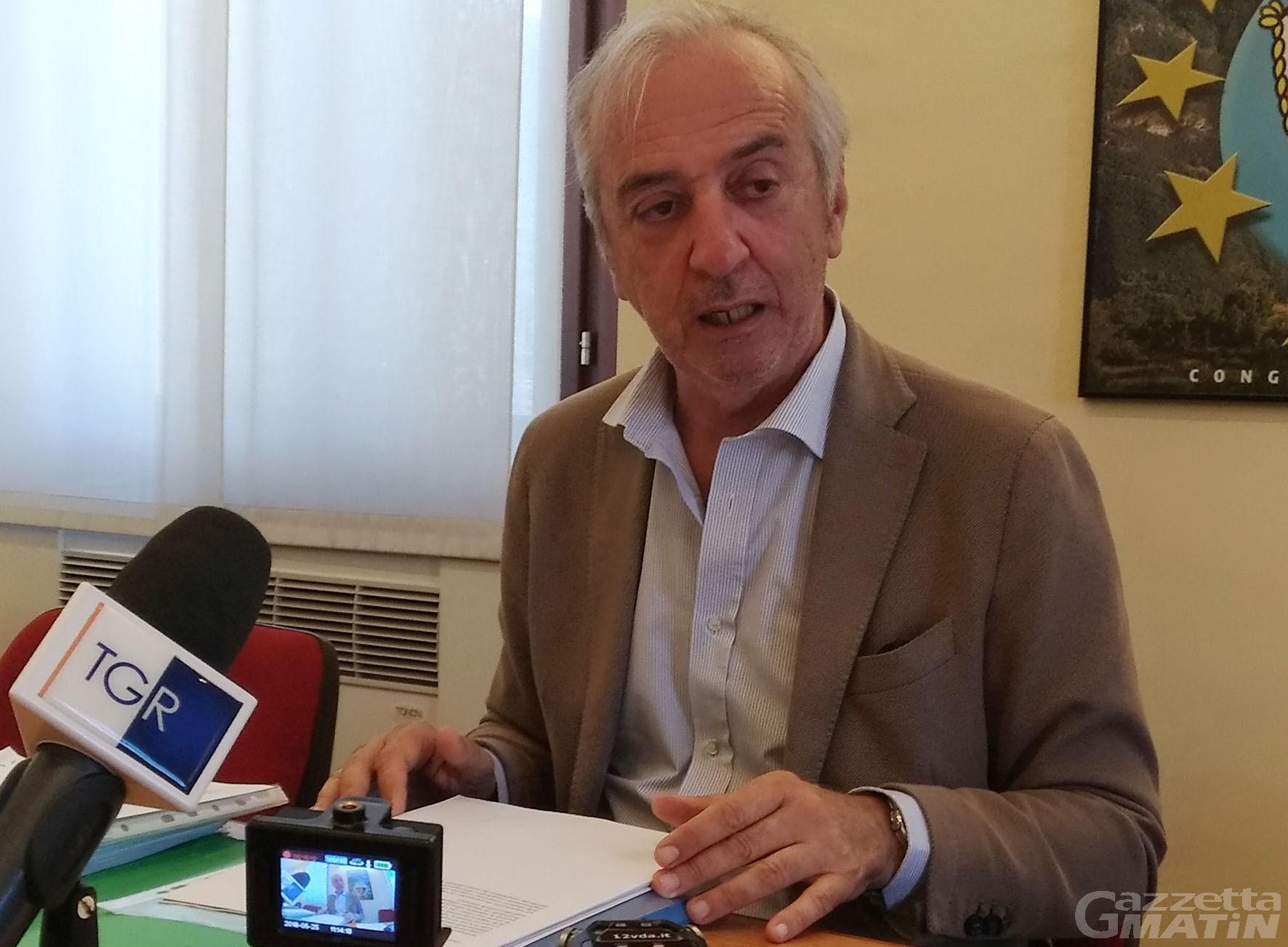 Corruzione in VdA: Peinetti: «mai fatto pressioni né subito influenze»