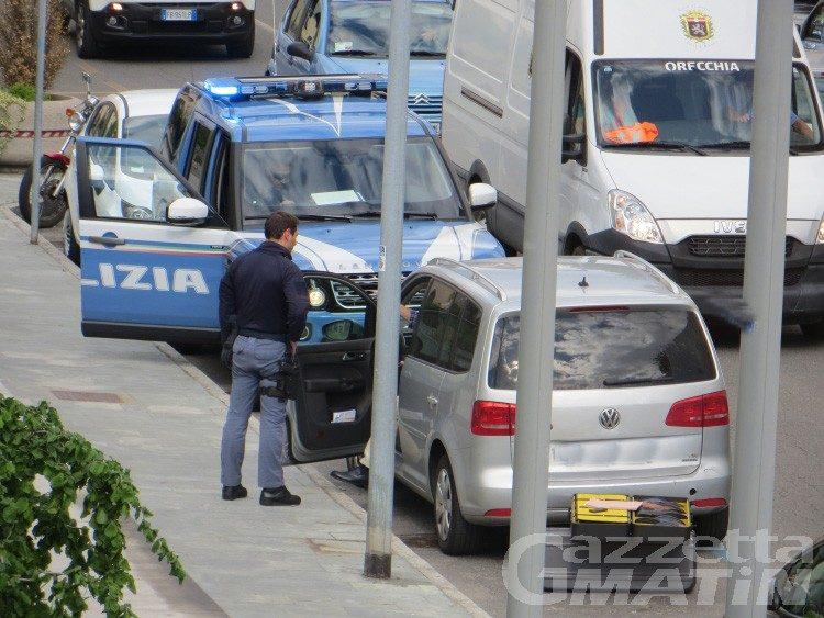 Auto sospetta a Palazzo Regionale… ma è un falso allarme
