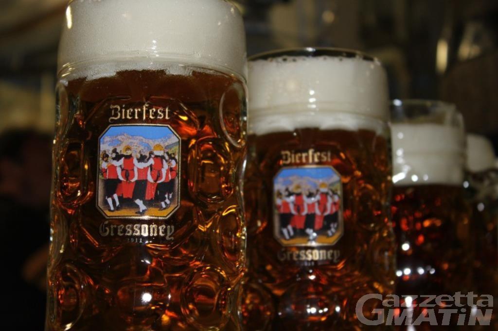 Gressoney, da oggi a domenica 24 giugno la festa della birra