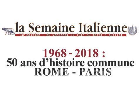 """Anche la Valle da oggi alla """"Semaine italienne"""" culturale di Parigi"""