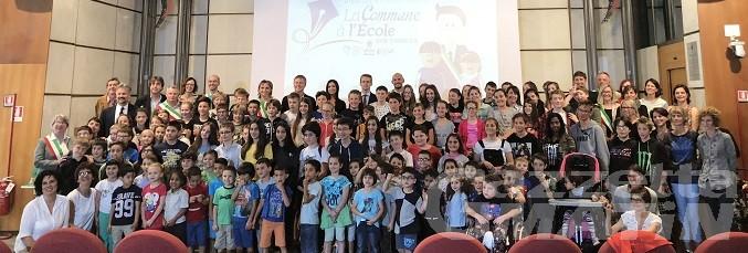 Scuola: premiati i progetti de La Commune à l'école