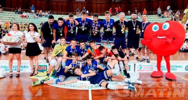 Volley: Kristian Gamba campione italiano Under 18