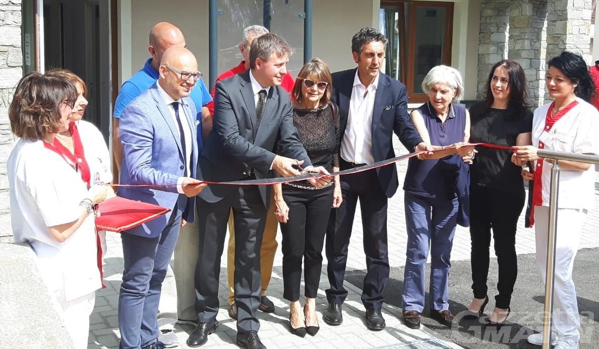 """Aosta: inaugurata la struttura per anziani """"Bellevue"""""""